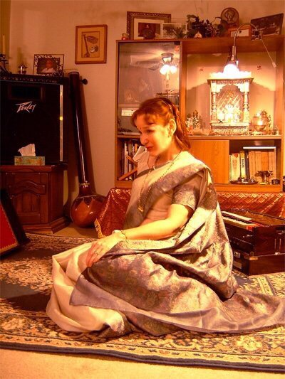 MADALSA in MADHUVAN LIFESTYLE music room.